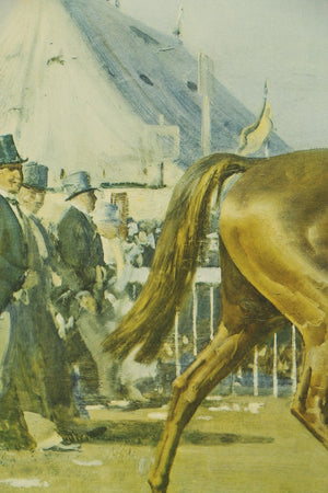 """Humorist and Donoghue (Going Out to The Derby 1921.)"" c1924 by A. J. Munnings RA"