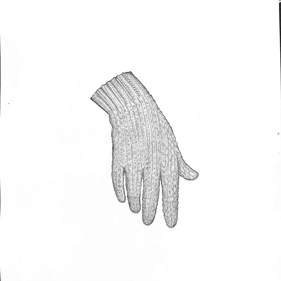Crocheted Cotton Glove