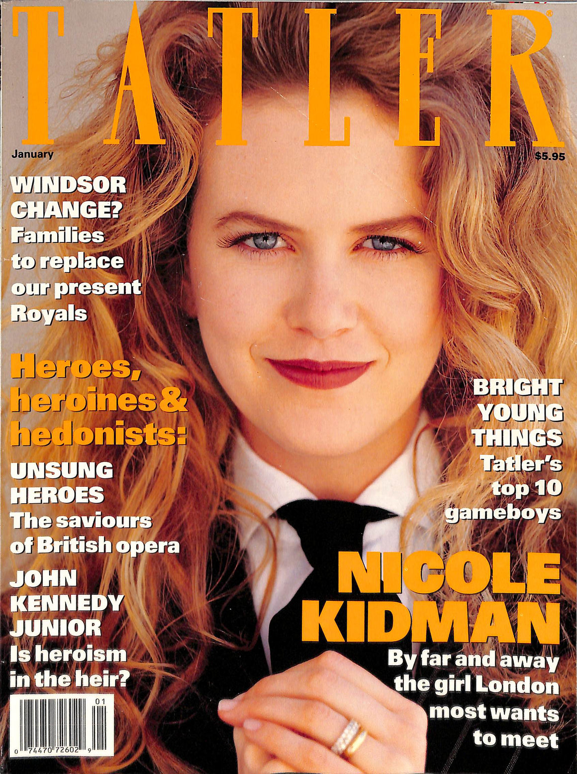 Tatler Volume 288 Number 1 January 1993
