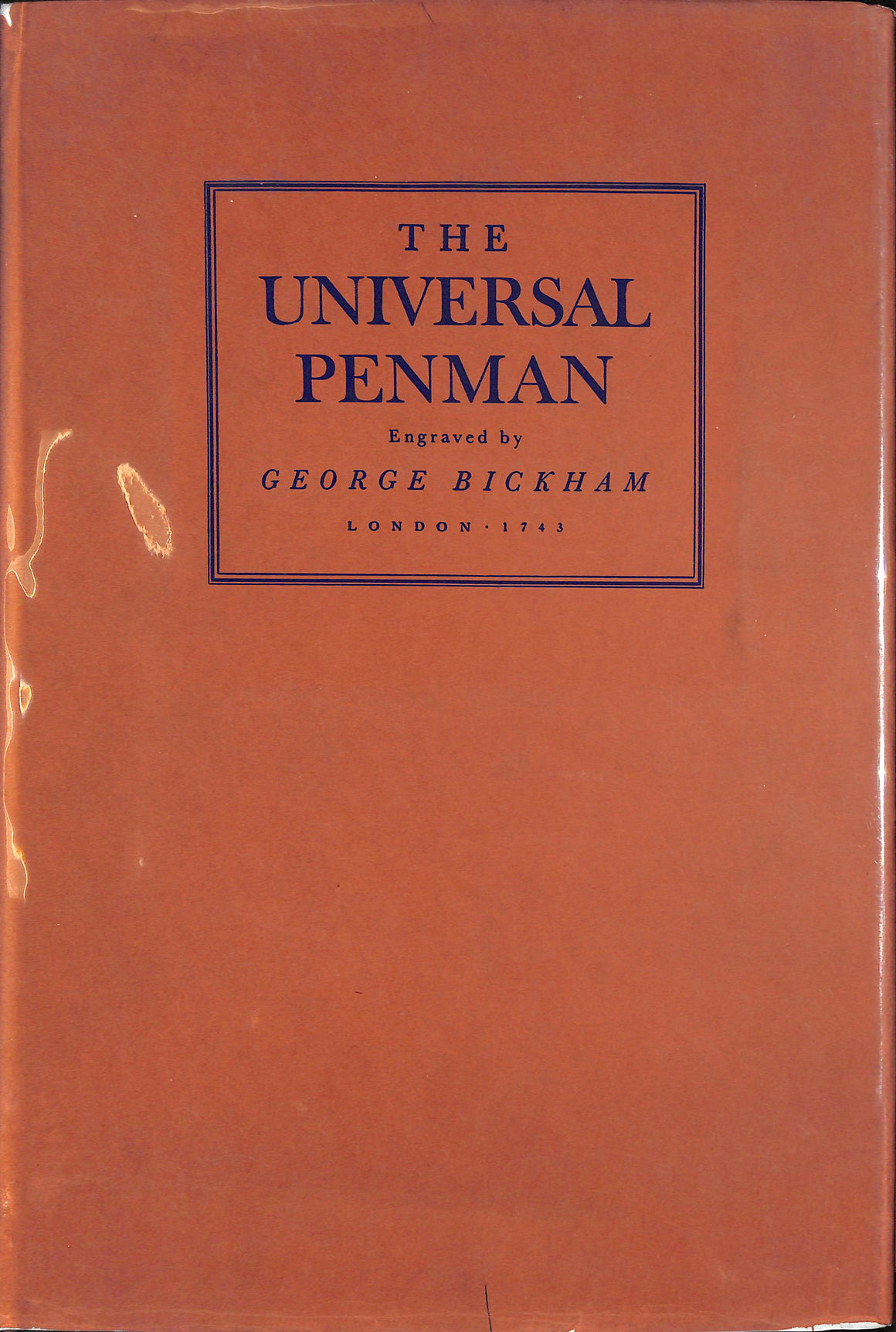 """The Universal Penman"" 1941 (Sold!)"