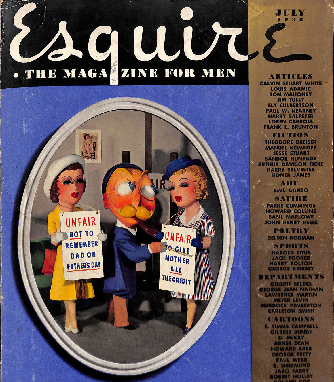 Esquire July 1938