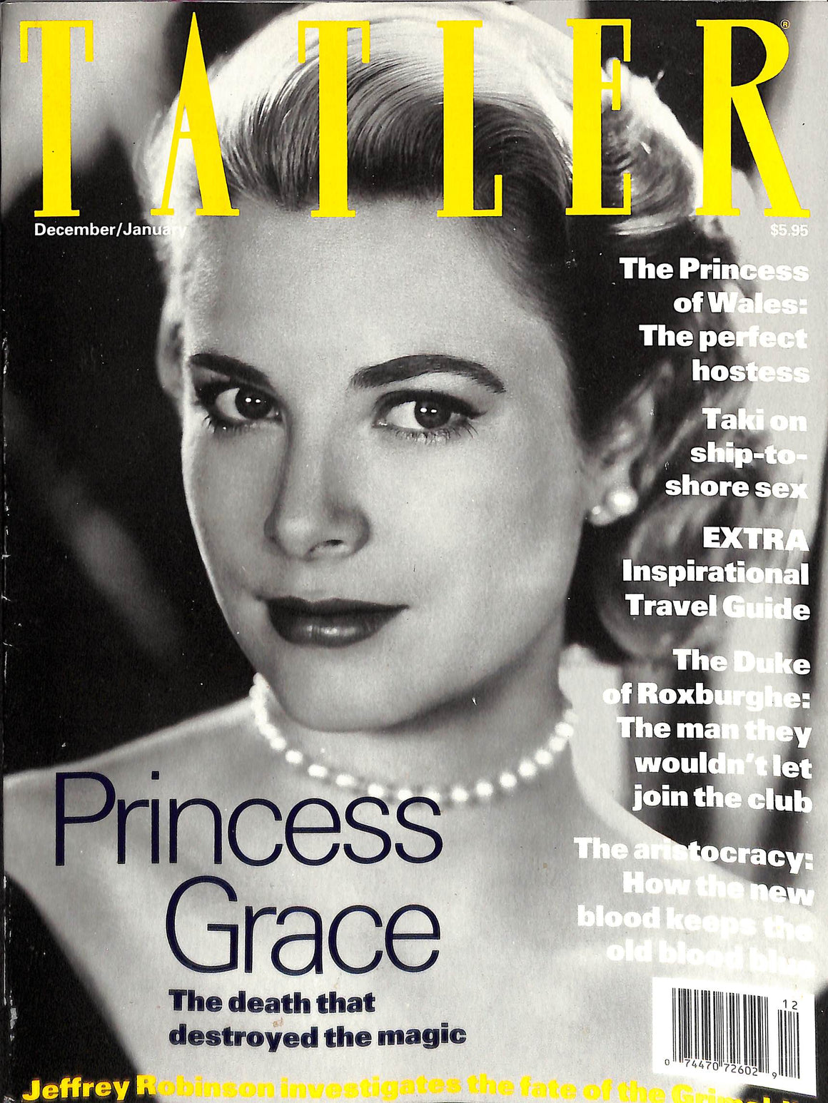 Tatler Volume 287 Number 1 December 1991/January 1992