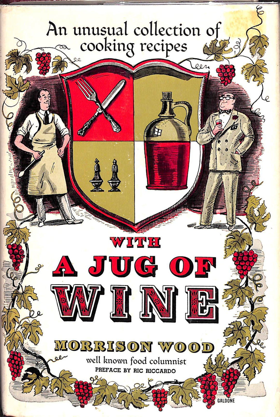 With a Jug of Wine: An Unusual Collection of Cooking Recipes