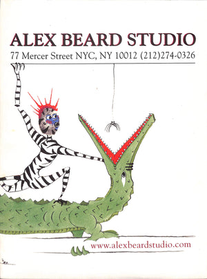 Alex Beard Studio Flyer