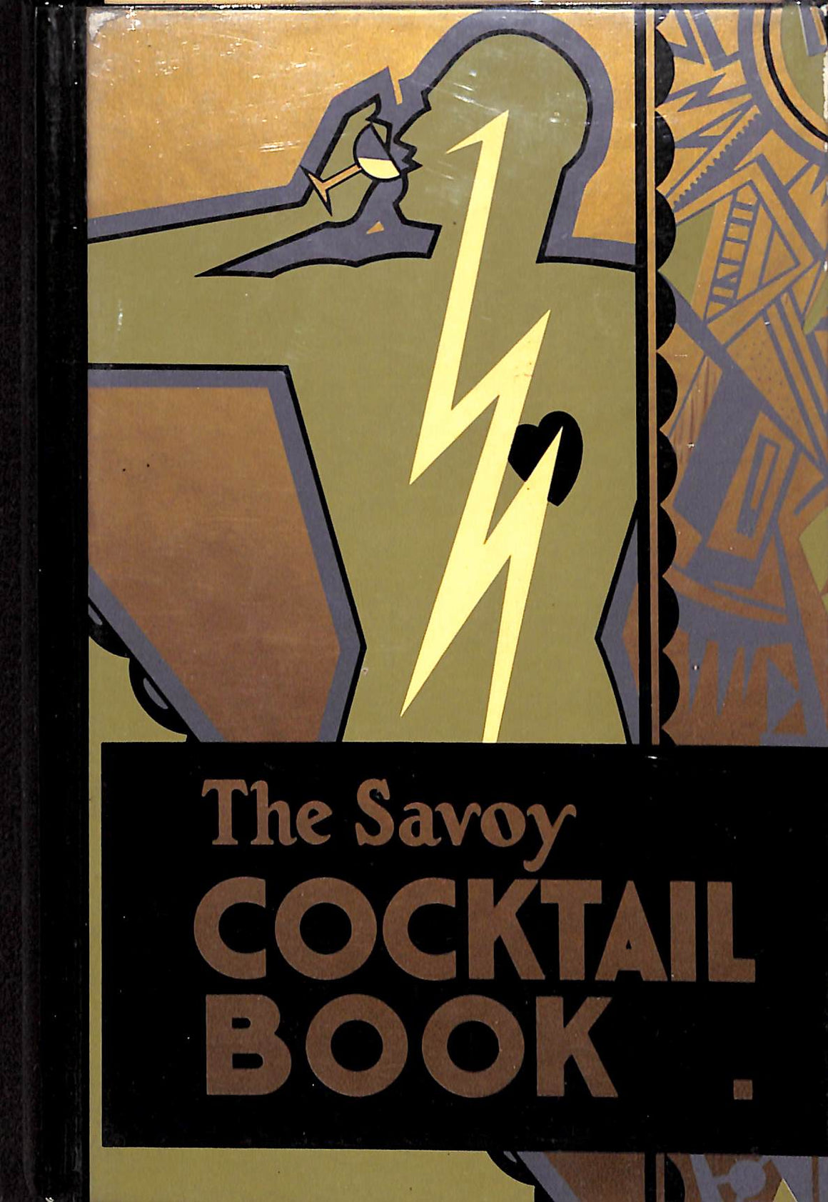 """The Savoy Cocktail Book"" 1987 (Sold!)"