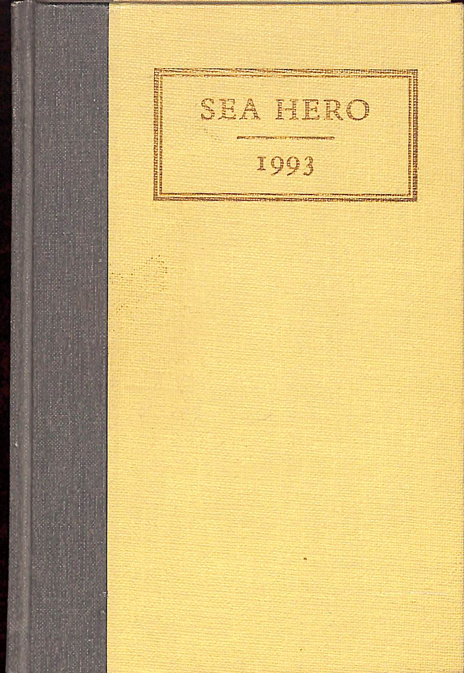 Sea Hero 1993 by Lloyd Kelly