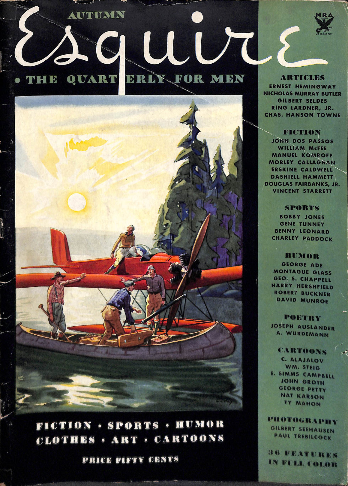 Esquire Autumn 1933 Inaugural Issue