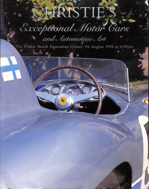 Christie's 1998: Exceptional Motor Cars and Automotive Art: The Pebble Beach Equestrian Center