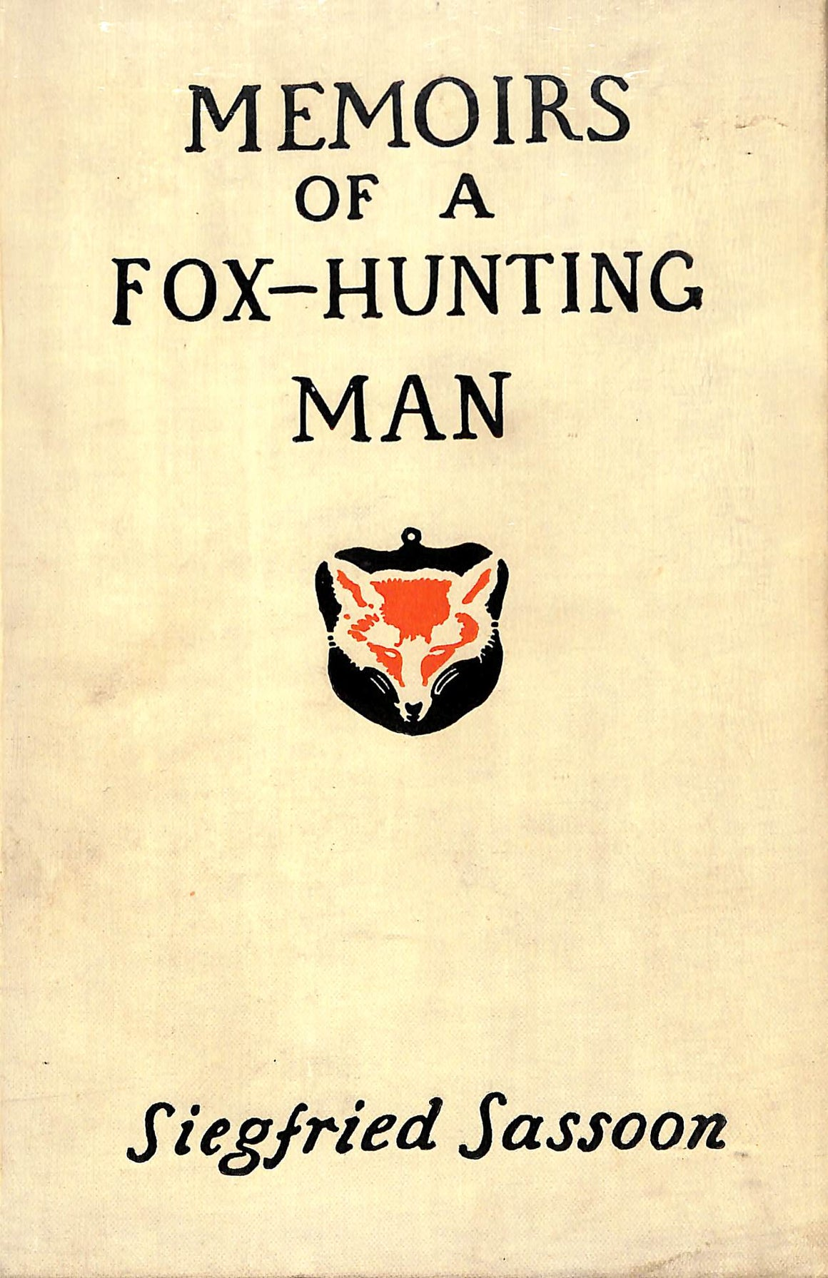 """Memoirs Of A Fox-Hunting Man"""