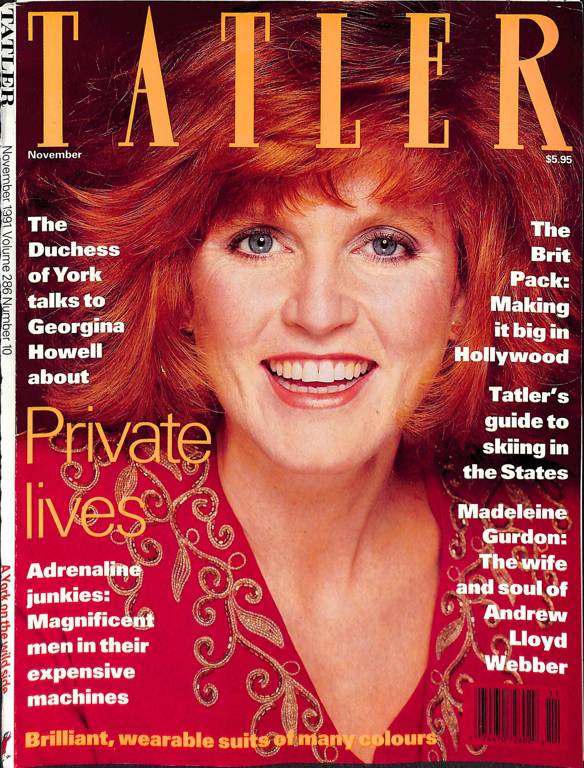 Tatler Volume 286 Number 10 November 1991