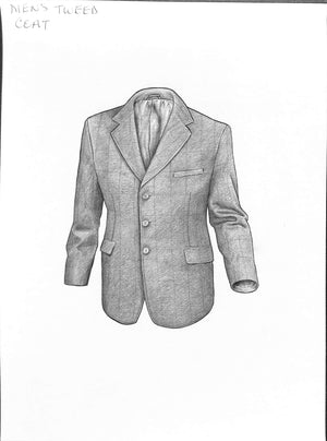 Gentleman's Tweed Coat