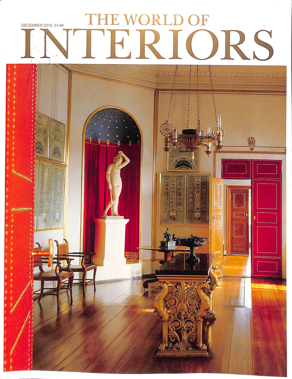 The World of Interiors December 2016 (Sold!)