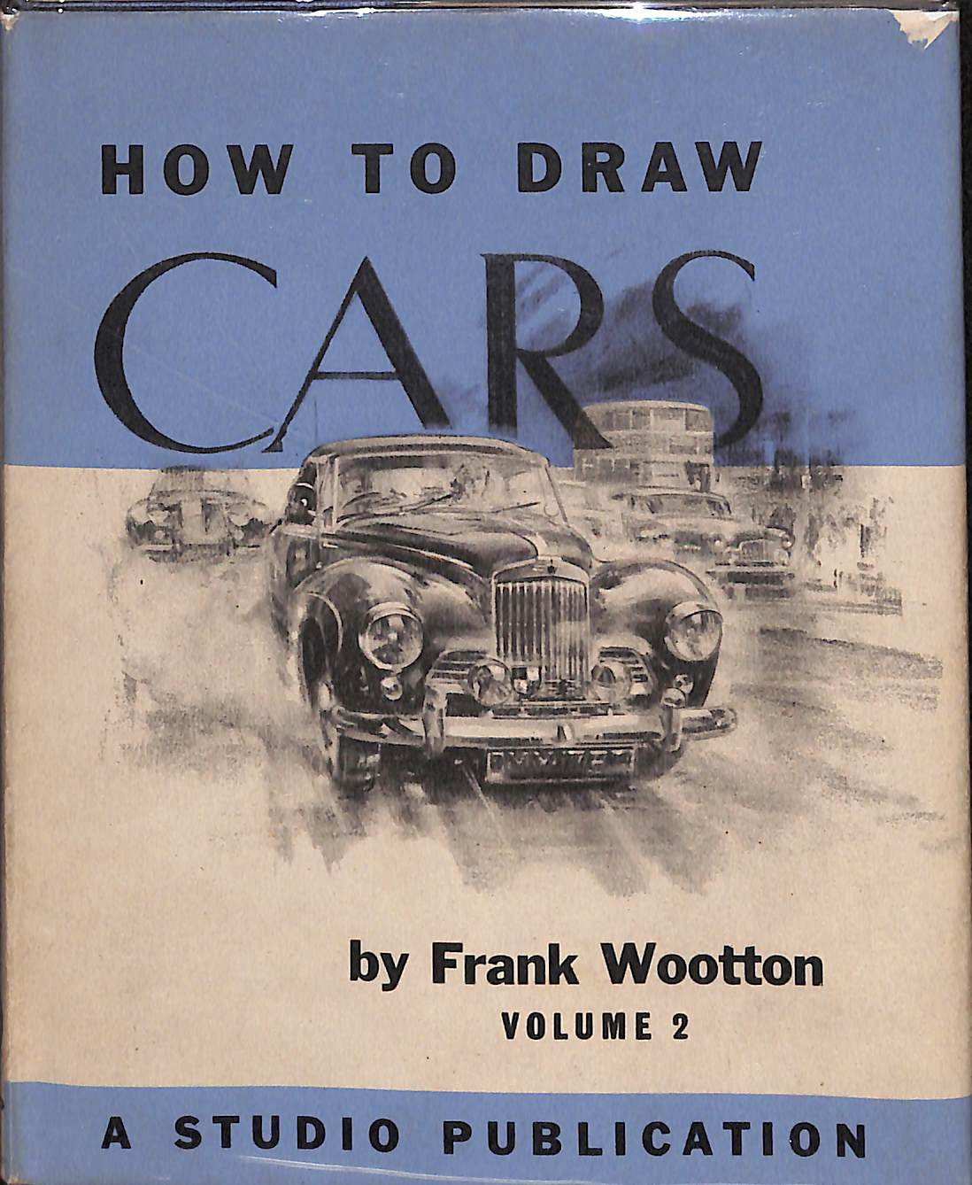 """How to Draw Cars: Volume 2"" 1955"
