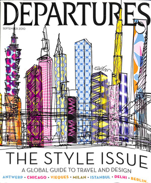 """Departures: The Style Issue September 2010"""