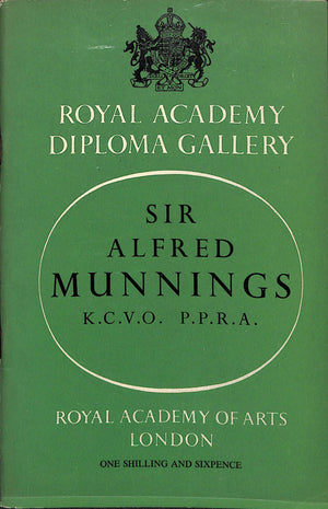 Royal Academy Sir Alfred Munnings Catalog