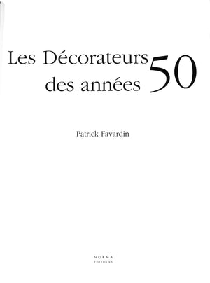 """Les Decorateurs des Annees 50"""