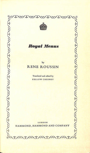 Royal Menus