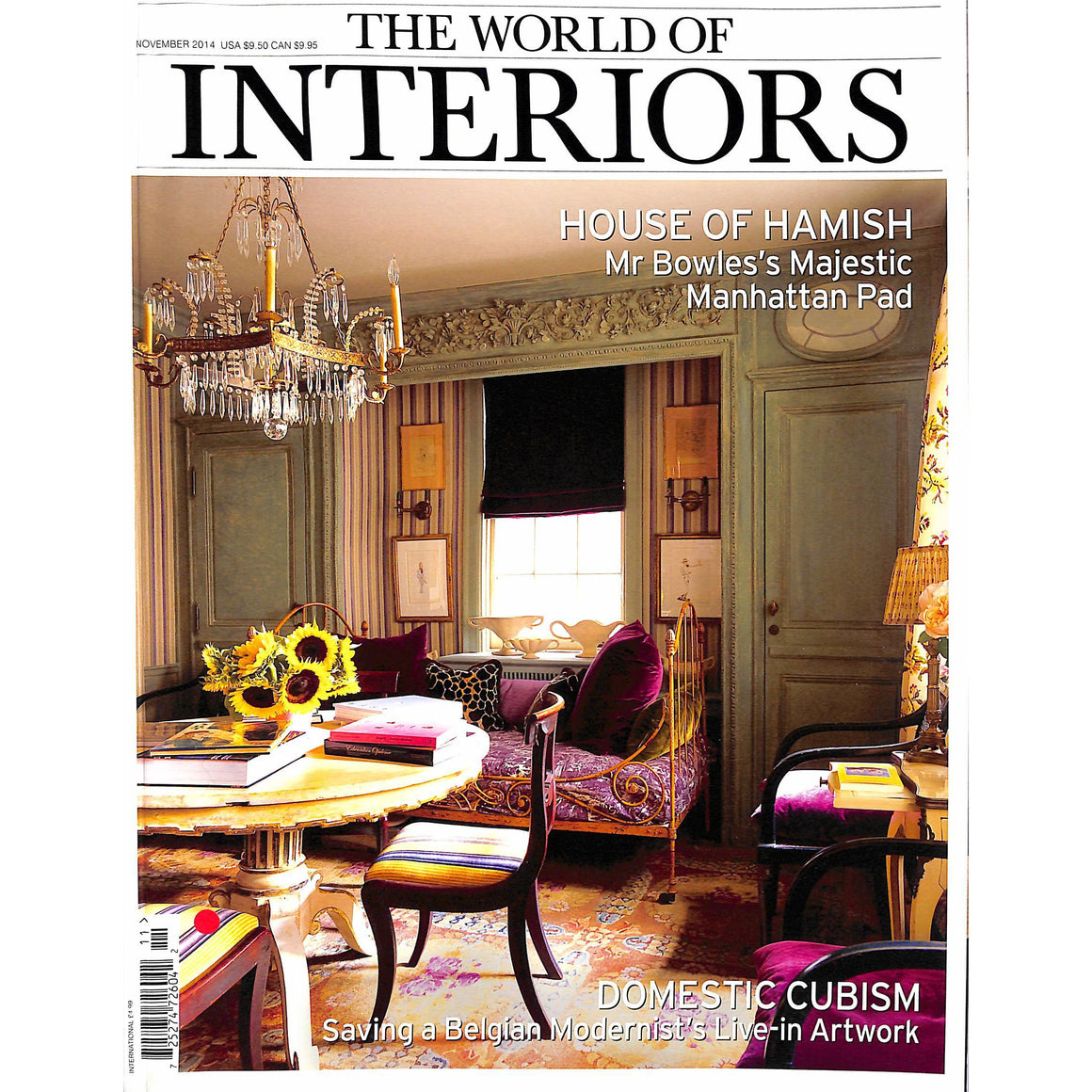 """The World of Interiors"" November 2014 (Sold!)"