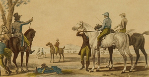 """Les Jockeys Montes"" by Vernet"