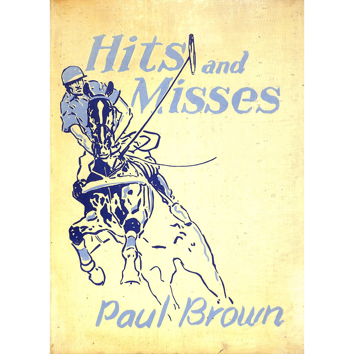 """Hits and Misses"" 1935 by Paul Brown The Derrydale Press #619/950"