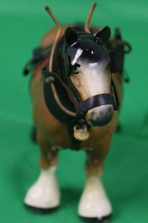 Brooks Brothers Made in England Draught Horse w/ Harness
