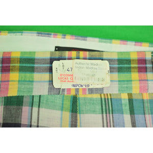 "O'Connell's GT Indian Madras Trousers Sz: 31""W"