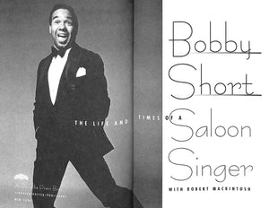"""Bobby Short: The Life and Times of a Saloon Singer"" 1995"