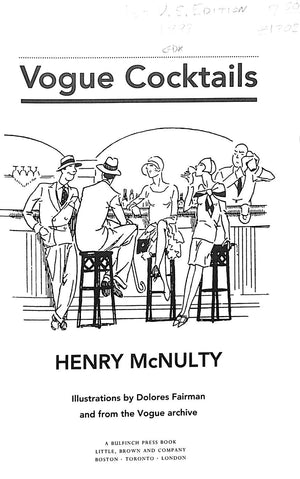 """Vogue Cocktails"" by Henry McNulty"