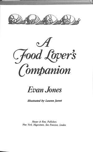 A Food Lover's Companion