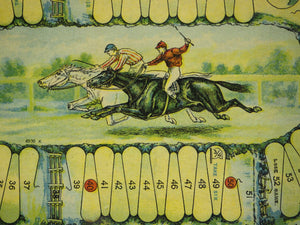 Steeplechase Game Board (SOLD!)
