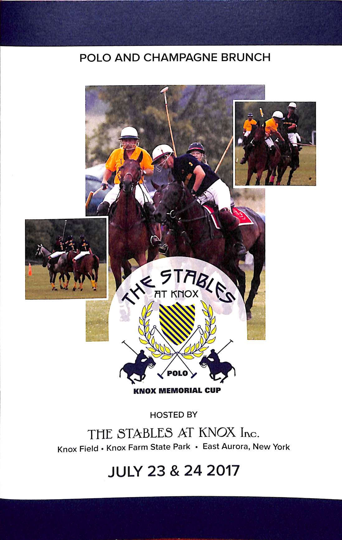 """The Stables at Knox Polo East Aurora, NY"" 2017"