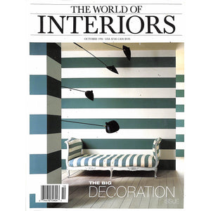 The World Of Interiors October 1996