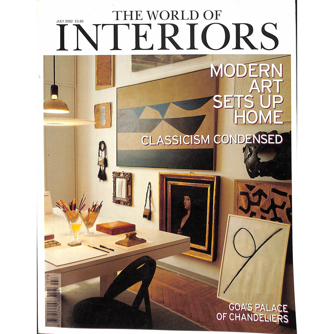 'The World of Interiors July 2002'