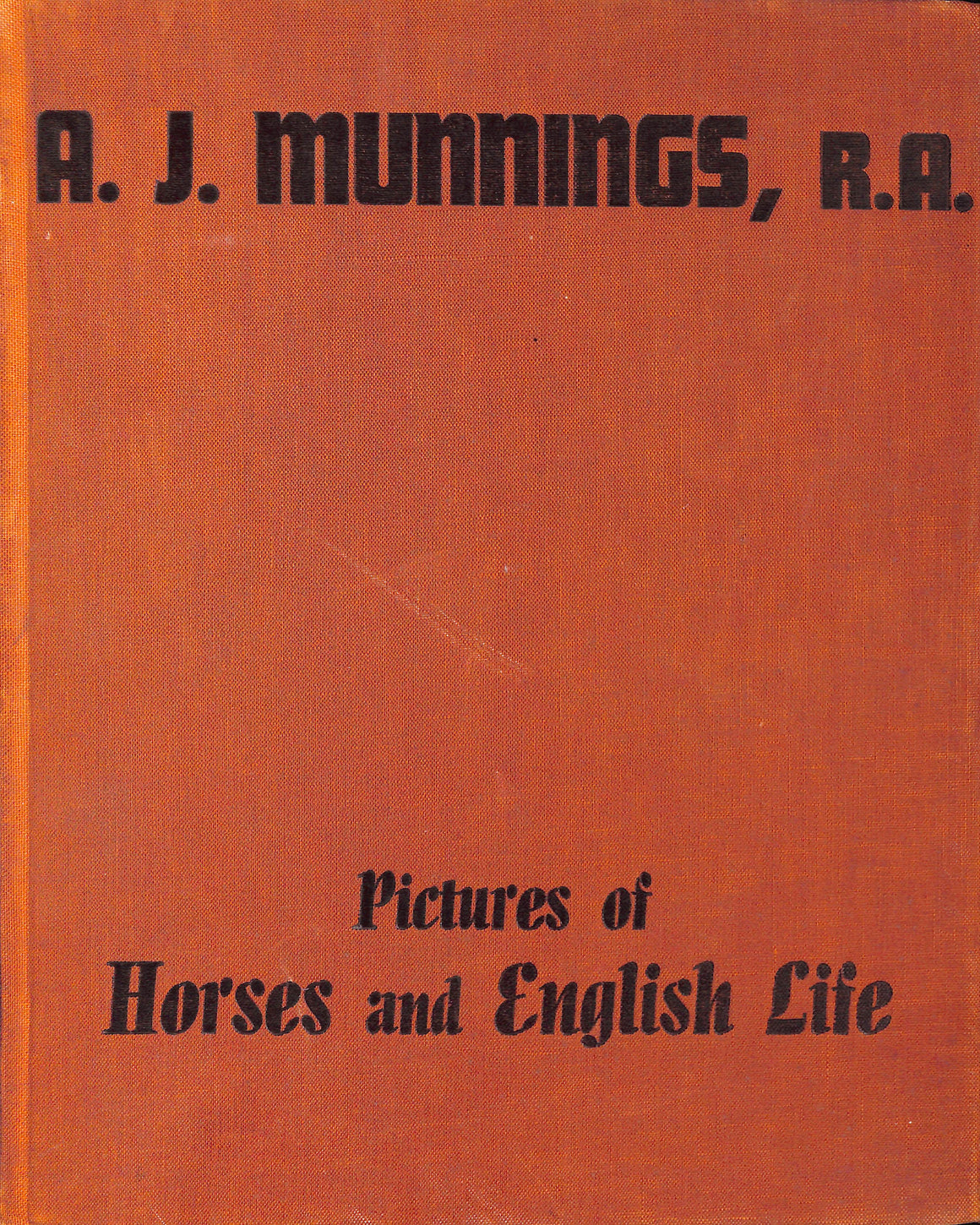 Pictures of Horses and English Life