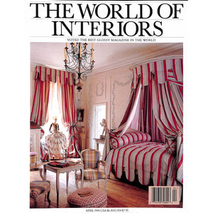 'The World of Interiors April 1994'
