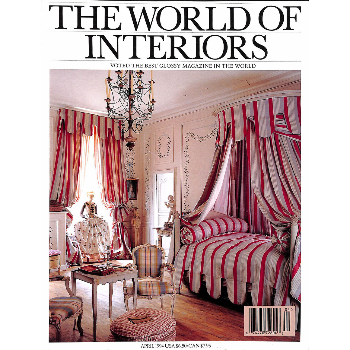 The World of Interiors April 1994 (Sold!)