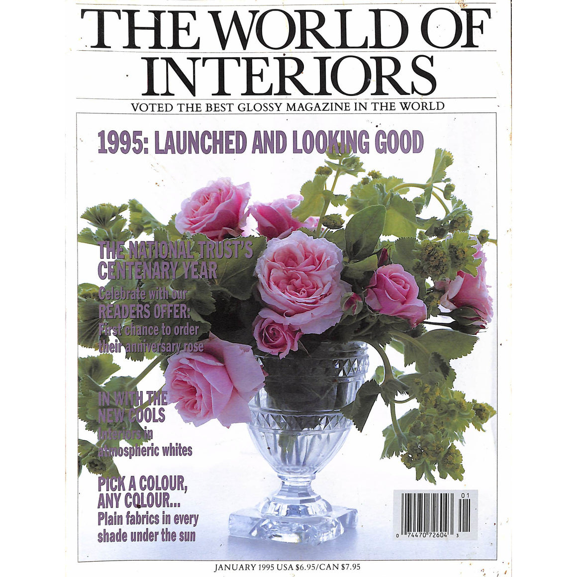 The World Of Interiors January 1995