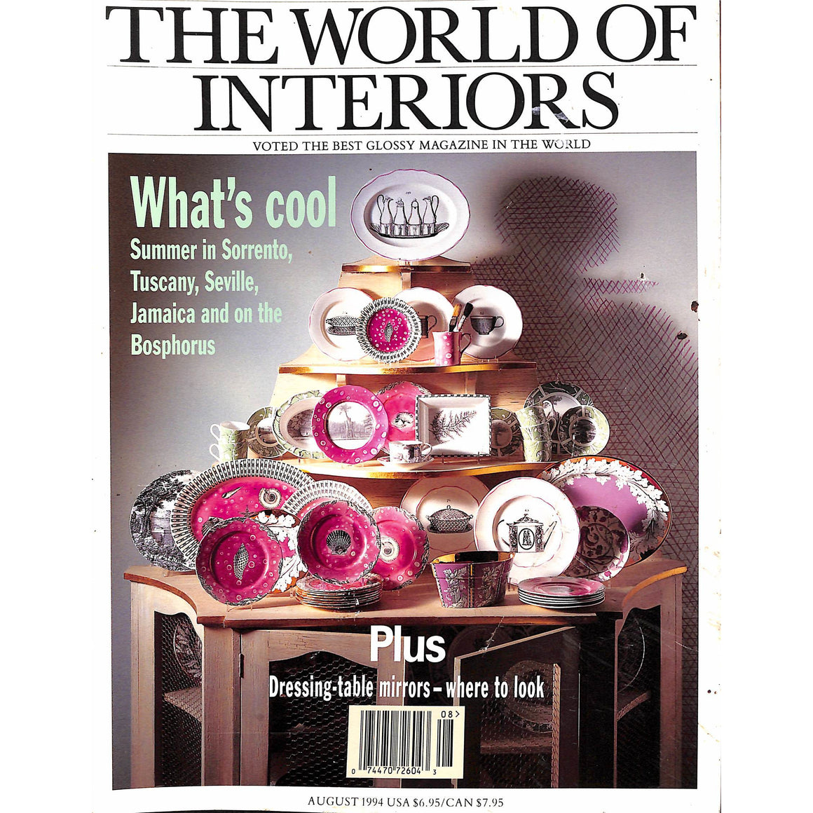 The World of Interiors August 1994