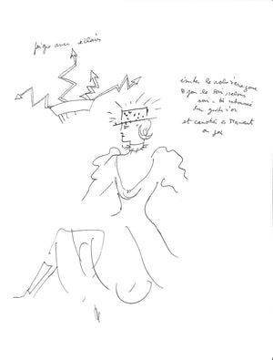 """Jean Cocteau: A Portfolio of Fashion & Costume Designs"" 1989"