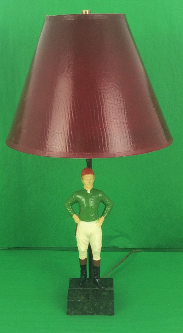 "The ""21"" Club Jockey c50s Lamp"