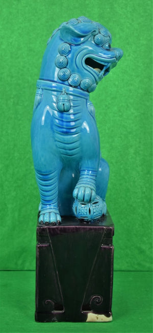 Chinoiserie Foo Dog