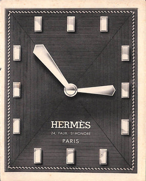 Hermes Paris Timepiece Catalog