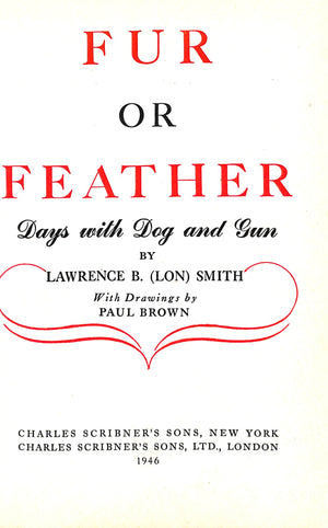 Fur or Feather: Days with Dog and Gun