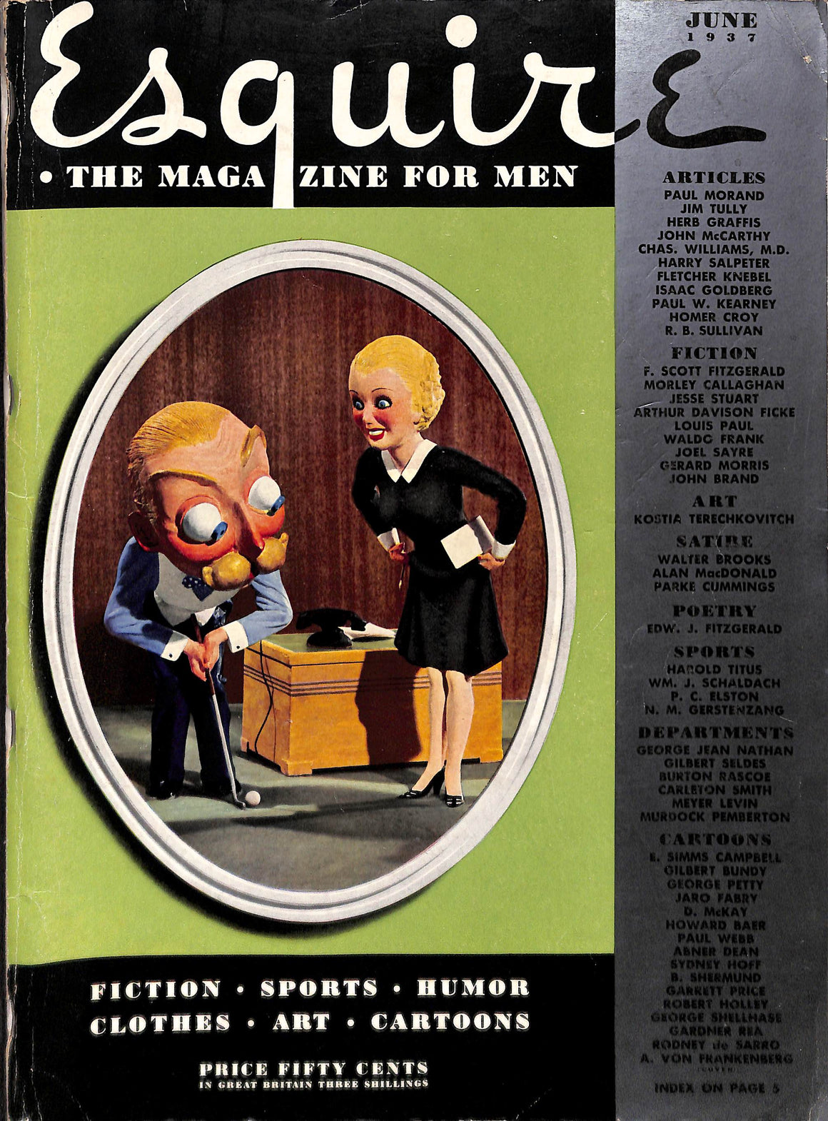 Esquire July 1937