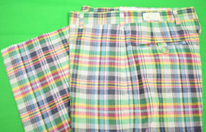 "O'Connell's GT India Madras Trousers Sz: 31""W"