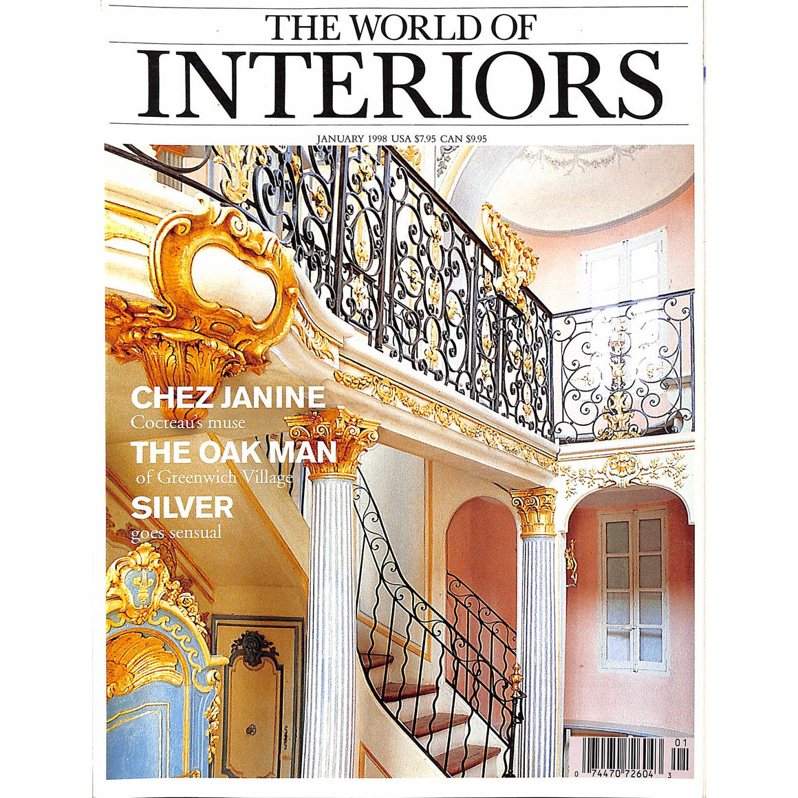 The World Of Interiors January 1998