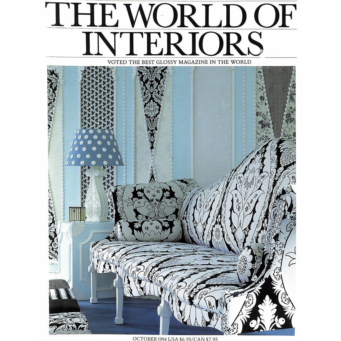 The World Of Interiors October 1994