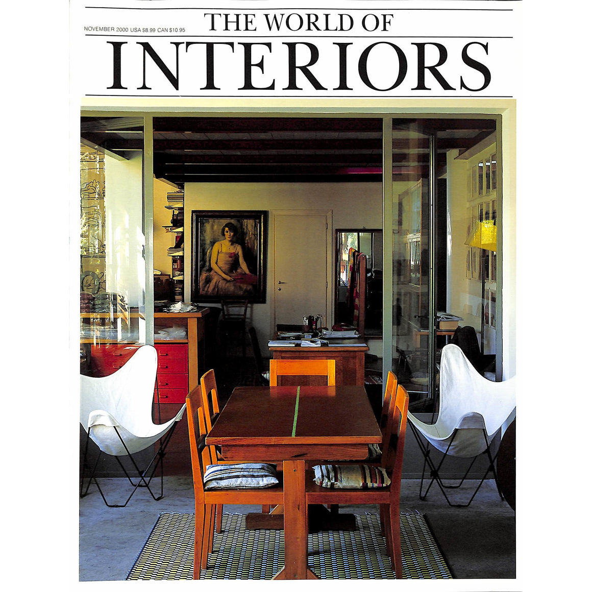 The World of Interiors November 2000