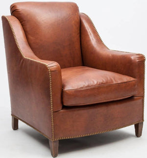 Leather Upholstered Armchair