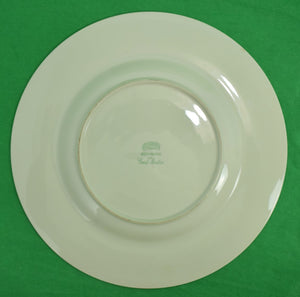 'Abercrombie & Fitch 'Pleased to Meet You?' Dinner Plate by Frank Vosmansky'